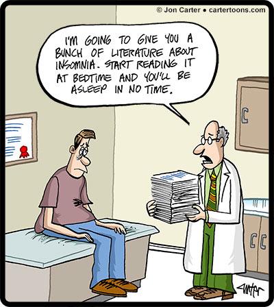 Psychiatric Times – April Cartoon