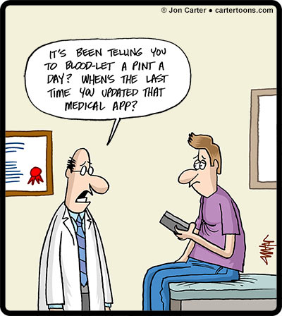 Physicians Practice – July Cartoon