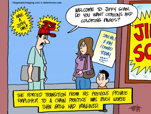 Diagnostic Imaging – September Cartoon
