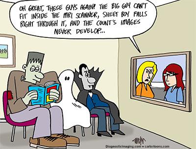 Diagnostic Imaging –  October Cartoon
