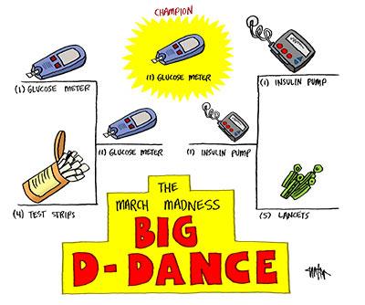 Diabetes Mine – April Cartoon