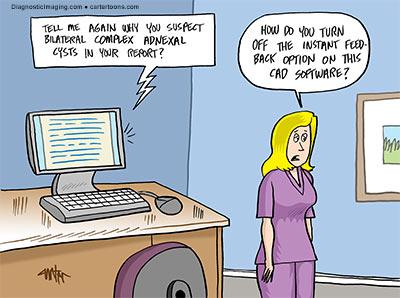 Diagnostic Imaging – April Cartoon