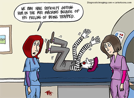 Diagnostic Imaging – June Cartoon