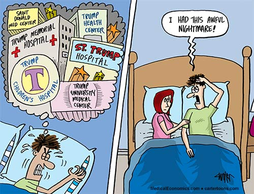 Medical Economics – August Cartoon