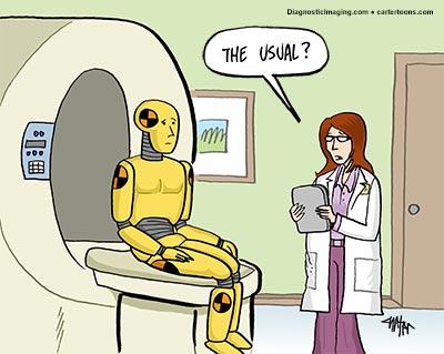 Diagnostic Imaging – Sept. Cartoon