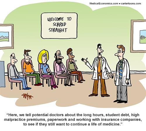 Medical Economics – Oct Cartoon
