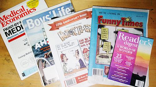 April publications